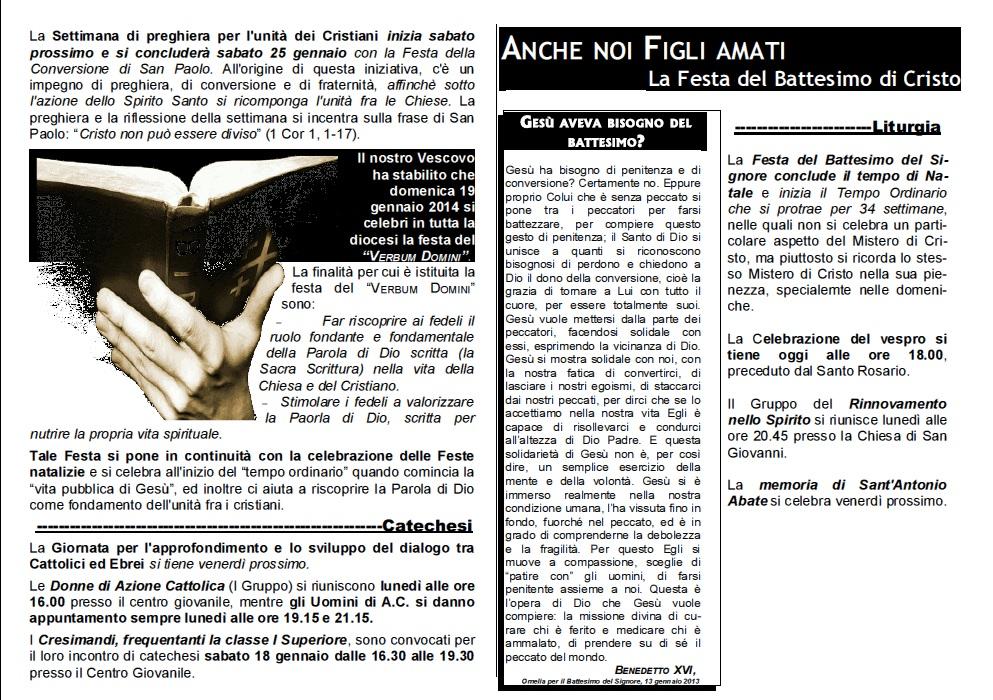 preghiera dei fedeli quando si legge