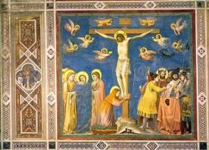 crocifissione-giotto - cappella degli Scrovegni PD