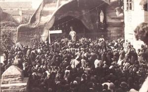 INAUGURAZIONE GROTTA  CATTEDRALE 27.9.1925